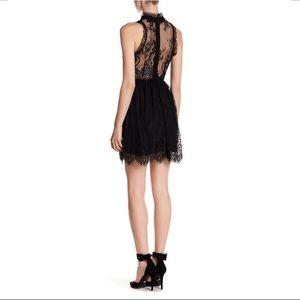 MWT Romeo & Juliet Couture Black Lace Dress